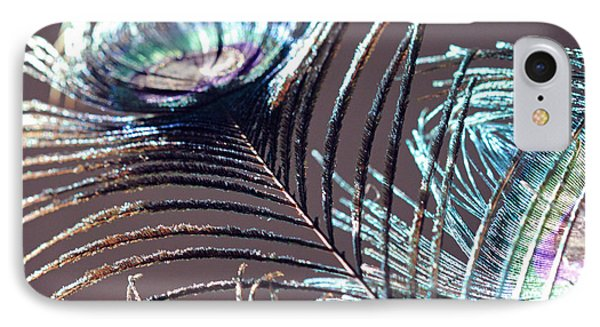 Dark Feathers IPhone Case by Angela Murdock
