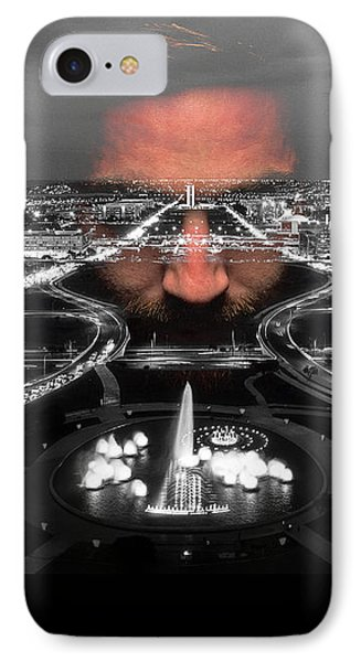 Dark Forces Controlling The City IPhone Case by ISAW Gallery
