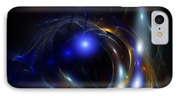 Dark Matter Revealed IPhone Case