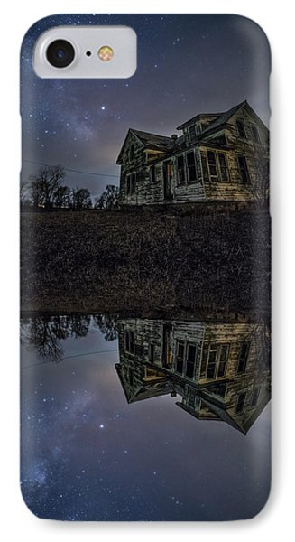 IPhone Case featuring the photograph Dark Mirror by Aaron J Groen