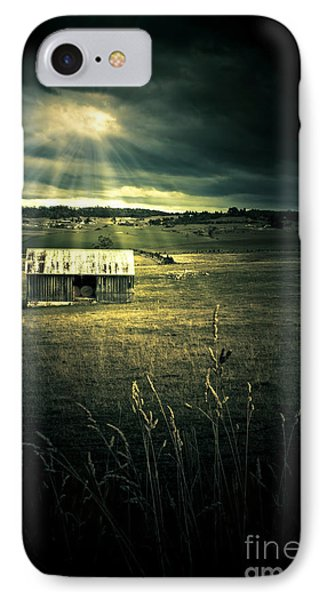 Dark Outback Landscape IPhone Case by Jorgo Photography - Wall Art Gallery