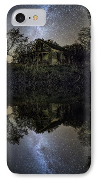 IPhone Case featuring the photograph Dark Reflection by Aaron J Groen
