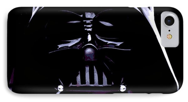 Dark Side IPhone Case by George Pedro