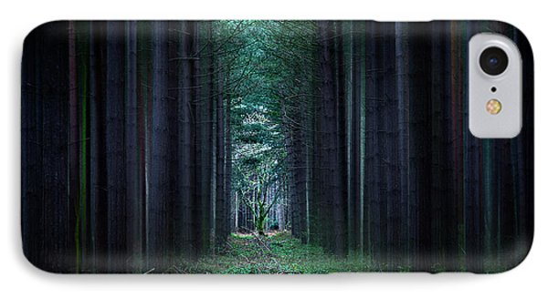 Dark Side Of Forest Phone Case by Svetlana Sewell