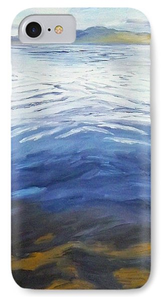 Dark Water, White Wave IPhone Case by Jeni Bate