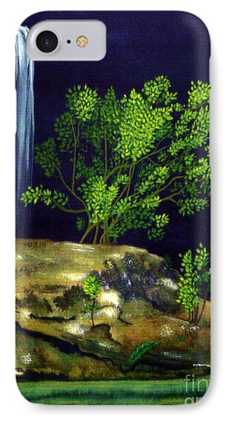 IPhone Case featuring the painting Dark Waters by Patricia Griffin Brett