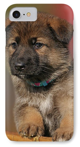IPhone Case featuring the photograph Darling Puppy by Sandy Keeton