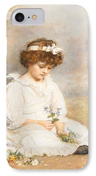 Darling IPhone Case by Sir John Everett Millais