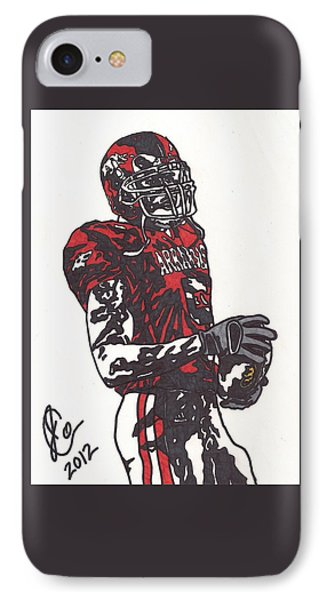 Darren Mcfadden 3 IPhone Case by Jeremiah Colley