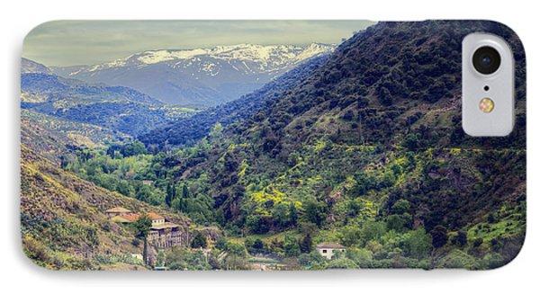 Darro River Valley Granada IPhone Case