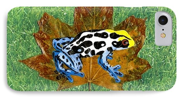 Dart Poison Frog IPhone Case
