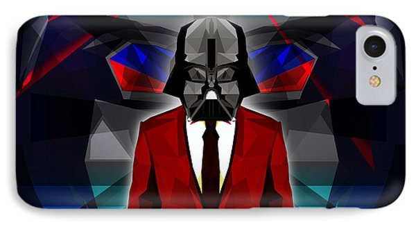Darth Vader 2 IPhone Case by Gallini Design