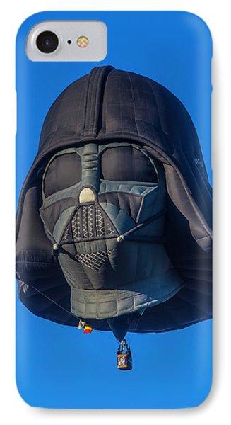 Darth Vader Helmet Hot Air Balloon IPhone Case by Garry Gay