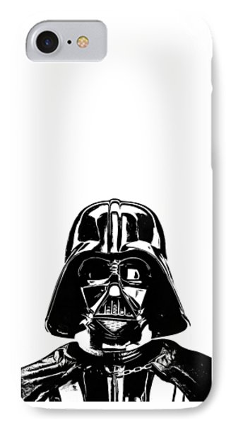 Darth Vader Painting IPhone Case by Edward Fielding