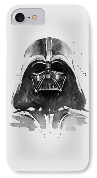 Darth Vader Watercolor IPhone Case