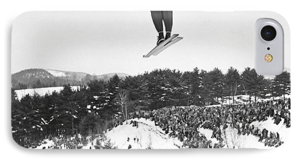 Dartmouth Carnival Ski Jumper IPhone Case