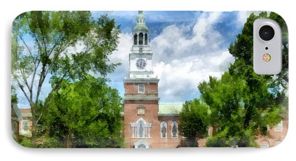 Dartmouth Collage IPhone Case by Edward Fielding