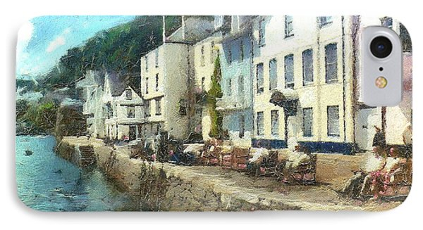 Bayards Cove Dartmouth Devon  IPhone Case