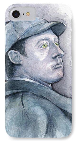 Data As Sherlock Holmes IPhone Case