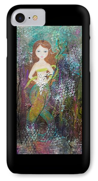 Daughter Of The Sea IPhone Case by Virginia Coyle