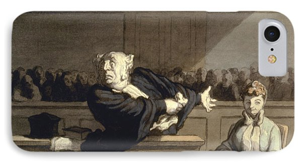 Daumier: Advocate, 1860 Phone Case by Granger