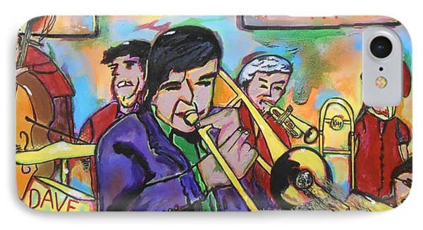 Dave Dickey Big Band IPhone Case