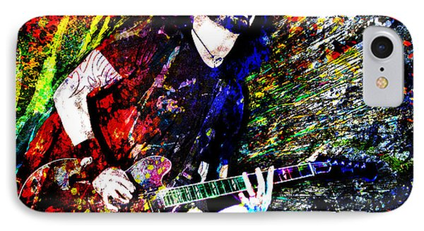 Dave Grohl Art  IPhone Case by Ryan Rock Artist