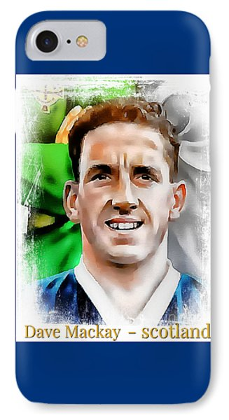 Dave Mackay Football Legend IPhone Case