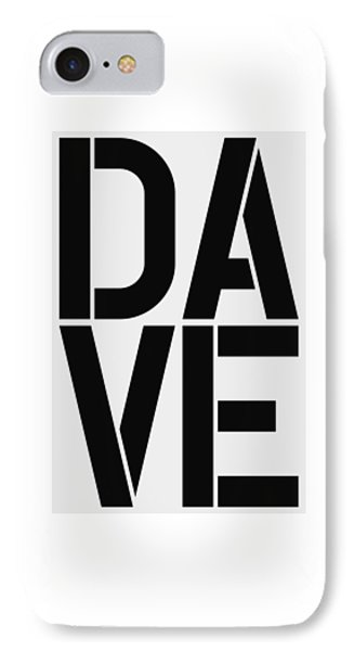 Dave IPhone Case by Three Dots