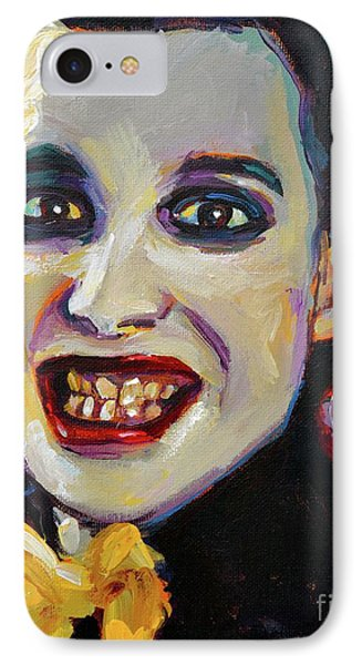 Dave Vanian Of The Damned IPhone Case