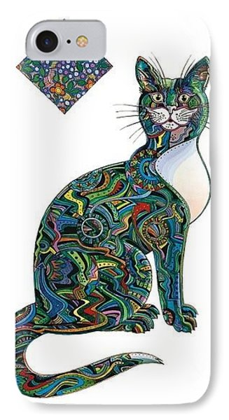 Dave's Cat IPhone Case by Bob Coonts