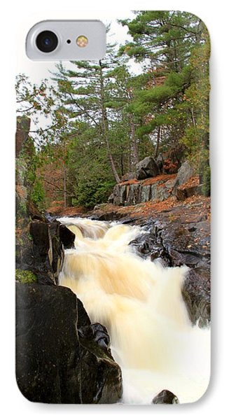 Dave's Falls #7277 IPhone Case by Mark J Seefeldt