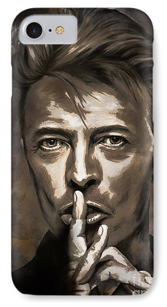 IPhone Case featuring the painting David by Andrzej Szczerski