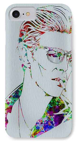 David Bowie IPhone Case by Naxart Studio