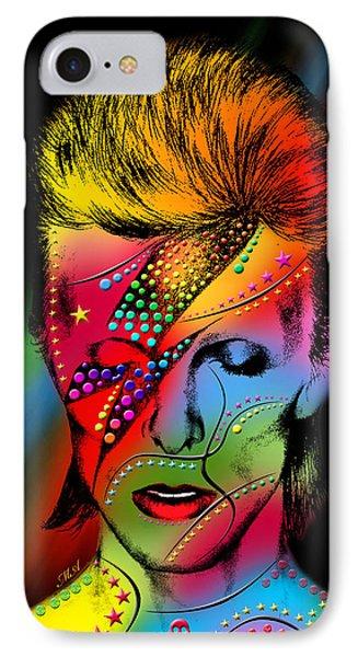 David Bowie Phone Case by Mark Ashkenazi