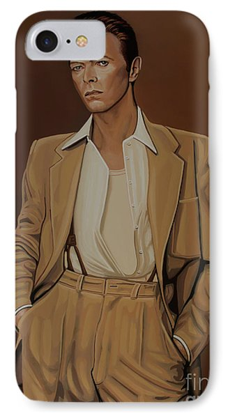 David Bowie Four Ever IPhone Case