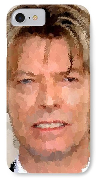 David Bowie Portrait IPhone Case