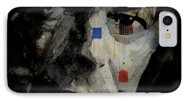 David Bowie Retro  IPhone Case by Paul Lovering