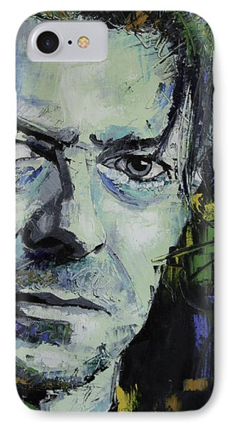David Bowie IPhone Case by Richard Day