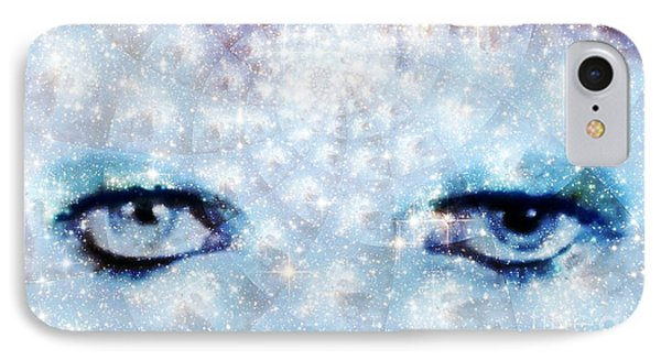 David Bowie / Stardust IPhone Case by Elizabeth McTaggart