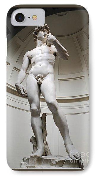 David By Michelangelo IPhone Case by Edward Fielding