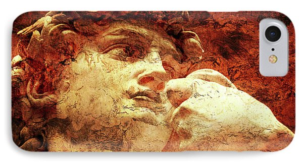 David By Michelangelo IPhone Case