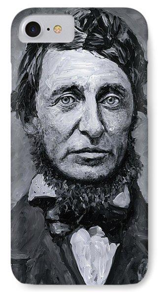 David Henry Thoreau IPhone Case