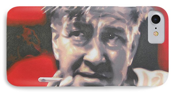 David Lynch IPhone Case by Luis Ludzska
