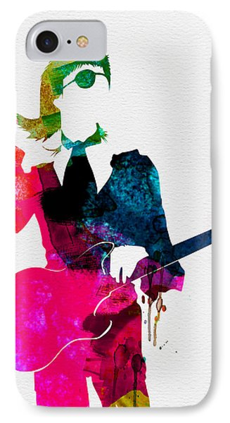 David Watercolor IPhone Case