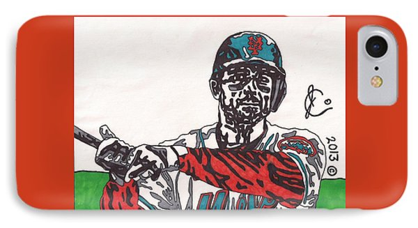 David Wright 2 Phone Case by Jeremiah Colley