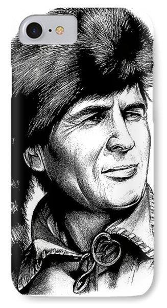 Davy Crockett IPhone Case
