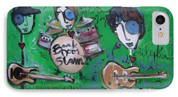 Davy Knowles And Back Door Slam Phone Case by Laurie Maves ART