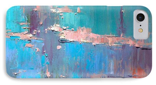 IPhone Case featuring the painting Dawn by Anastasija Kraineva