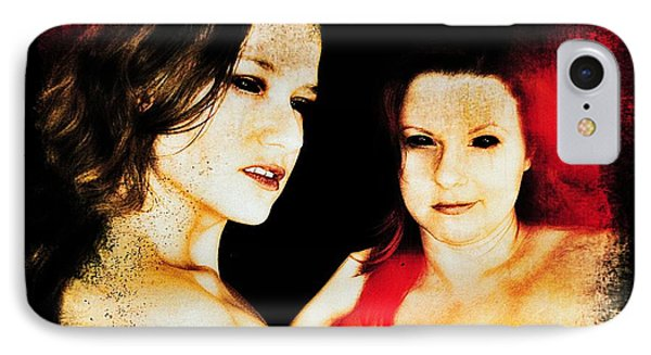 Dawn And Ryli 1 IPhone Case